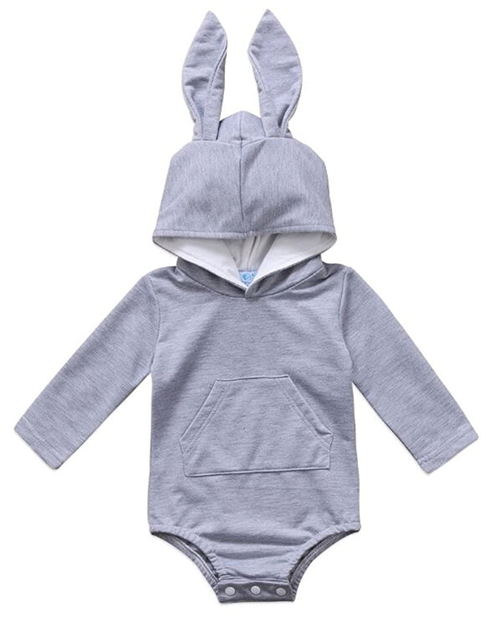 dd5fdfe06d75 Amazon.com  UNIQUEONE Newborn Kids Baby Boy Girl Bunny Romper Warm ...