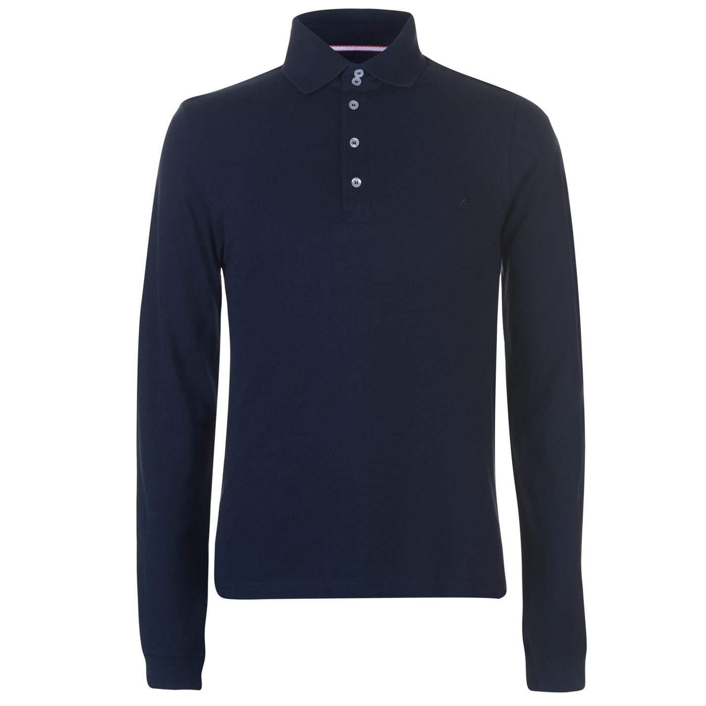 Kangol Hombre Multi Panel Camiseta Polo Azul Marino M: Amazon.es ...