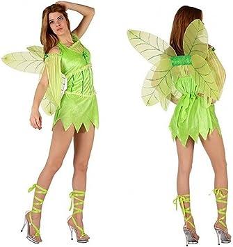 Desconocido Disfraz de hada sexy verde para mujer: Amazon.es ...