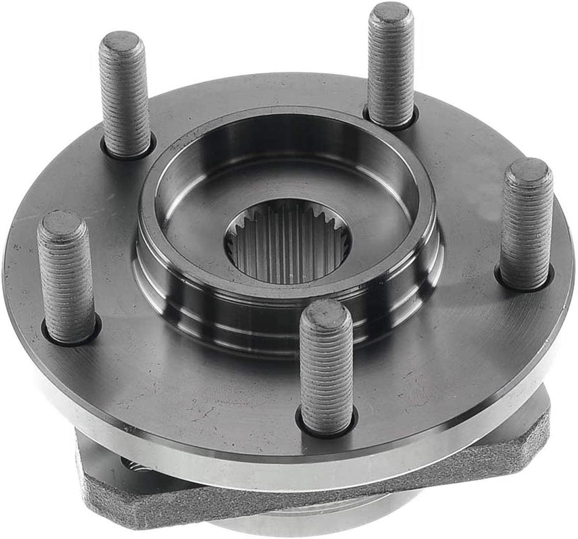 A-Premium Wheel Hub and Bearing Compatible with Chryslr Town /& Country 96-07 Dodge Caravan 96-07 Grand Caravan Plymouth Voyager 1996-2000 Front Left or Right