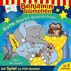 Tiere der Nacht (Benjamin Blümchen - Gute-Nacht-Geschichten 19)