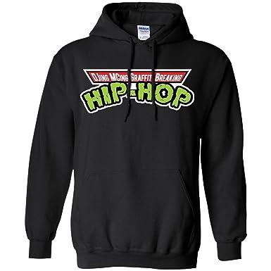 Amazon.com: Rap History Hip-Hop Ninjas Hoodie: Clothing