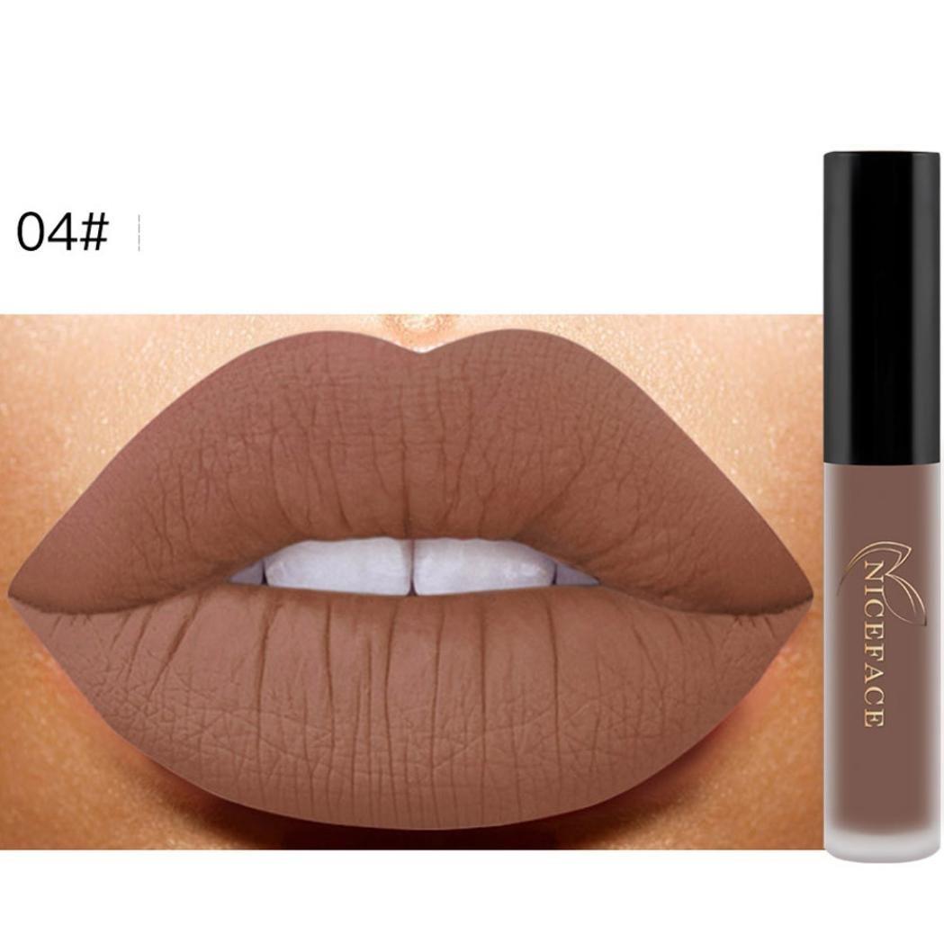becfa5ff0900 Gocheaper 26 Color Shades Lip Glaze,Lip Lingerie Matte Liquid Lipstick  Waterproof Lip Gloss Makeup (C)