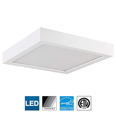 Sunlite Led 7 Inch Square Surface Mount Ceiling Light