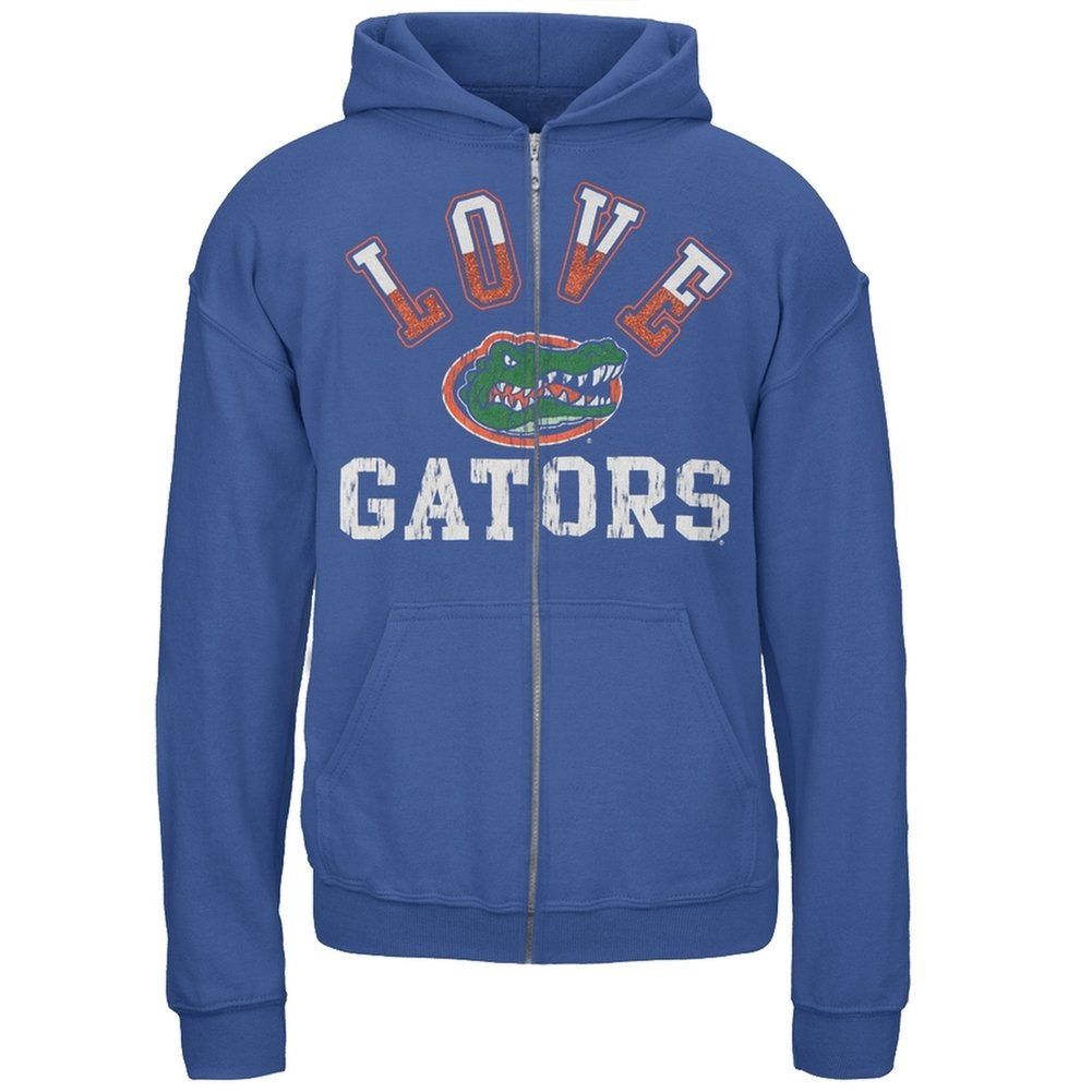 Florida Gators - Glitter Love Girls Youth Hoodie