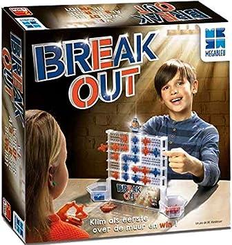 Megableu Break out Niños Estrategia - Juego de Tablero (Estrategia, Niños, Niño/niña, 4 año(s), Holandés, Interior y Exterior): Amazon.es: Juguetes y juegos