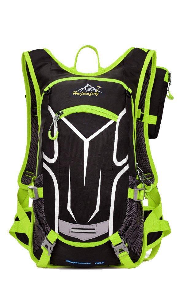 Hwjianfeng 18L Mochila de hidratación para Running o Ciclismo,28 x 12 x 45 cm(Verde): Amazon.es: Deportes y aire libre
