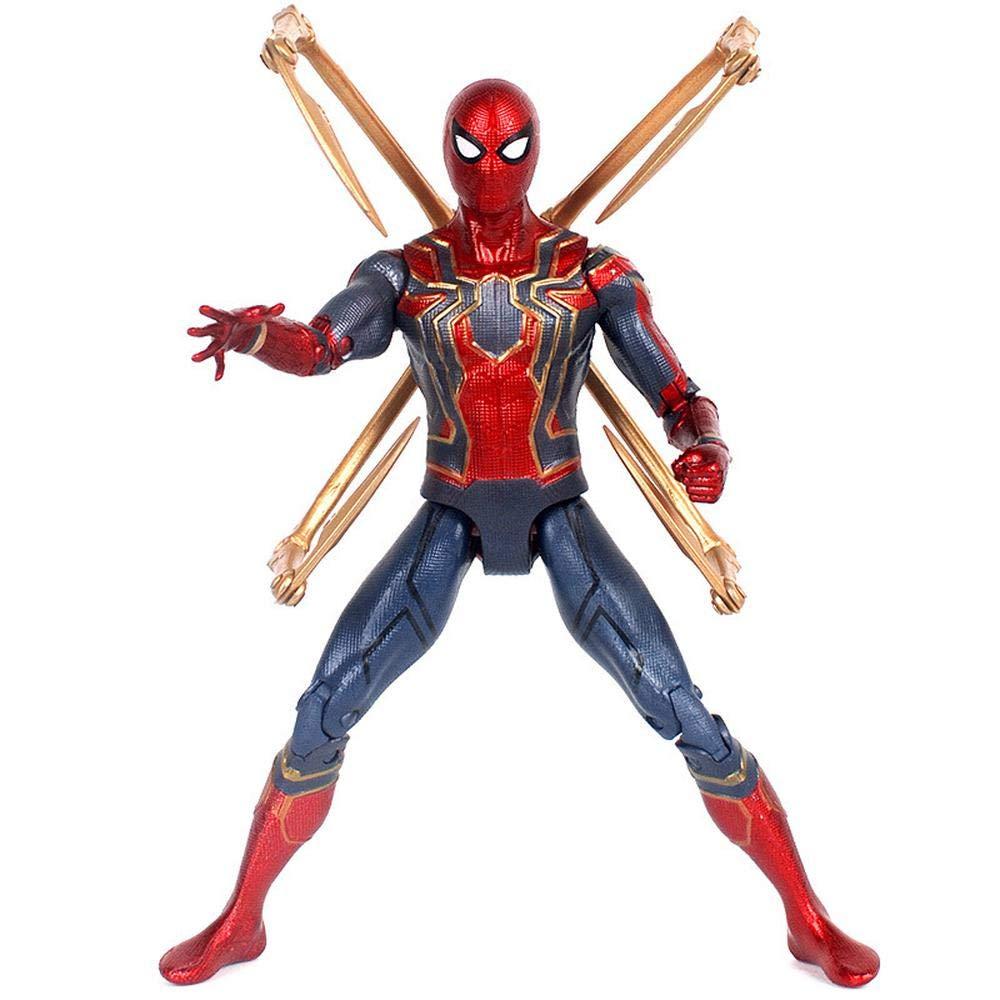 ventas en línea de venta Base Version Decddae Marvel Avengers  Infinity Infinity Infinity War Iron Spiderman, Modelo de Personaje, Juguetes para niños Base Version  mejor servicio