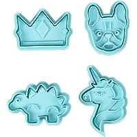 4-Piece Wilton Stamp Cookie Cutters
