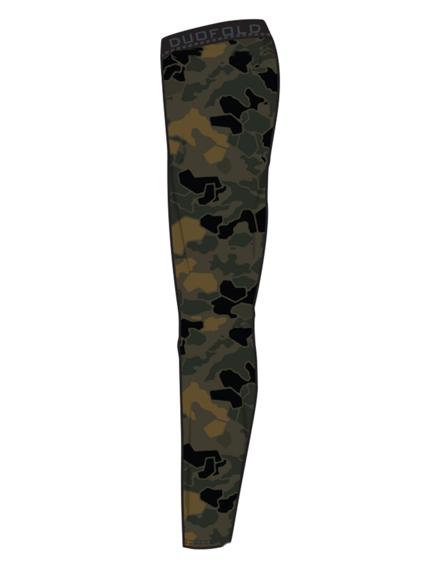 Duofold Men's Brushed Back Pant, Tawny Brown Faster Asteroid Camo, M