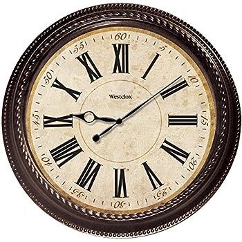 Amazon Com Westclox 32213 Round Oversized Classic Clock