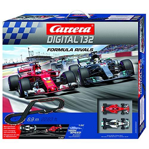 Carrera 20030004 Formula Rivals Digital 132 Scale Slot Car Racing Track Set System 1:32 Scale from Carrera