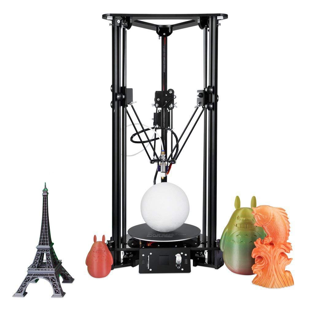 EZT3D-T1 3D Delta DIY Kit de impresora 3D, 180 x 300 mm, tamaño ...