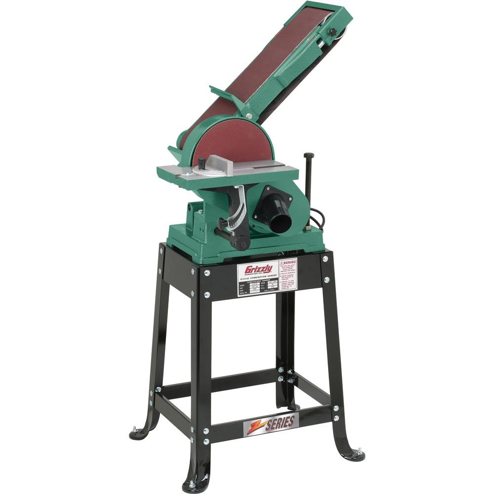 Grizzly G1014Z Disc Z Series Combination Sander with Belt, 6 x 48-Inch by Grizzly (Image #1)
