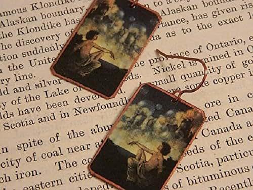 Amazon.com: Maxfield Parrish earrings Maxfield Parrish