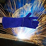 Holulo Extra large CE Welding Gloves, Brown
