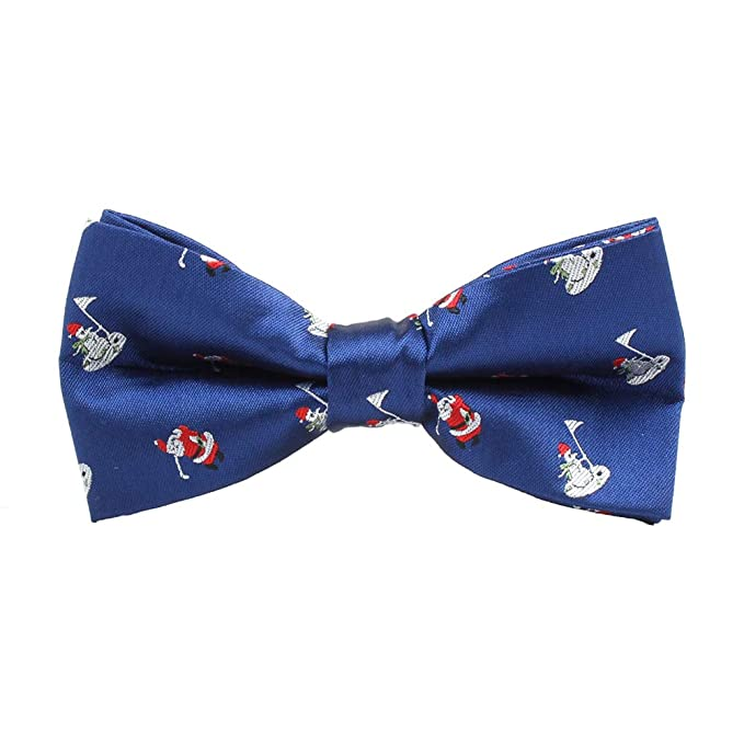 728073e09e26 Dertring 6 PCS/LOT Christmas Bow Ties Woven Pre-tied Bowtie for Men's  Neckwear
