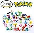 Oliasports 24 Pokemon Action Figures from Durotoy