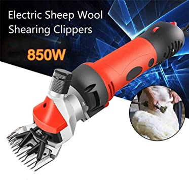 320W Electric Shear Clipper Sheep Goats Alpaca Farm Shears w// Tough Case
