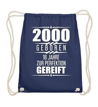 Shirtee Lustige Geschenkidee 18 Geburtstag Geschenk 18 Jahre 2000