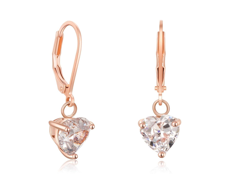 Amazon.com: Buyless Fashion - Pendientes colgantes de oro ...