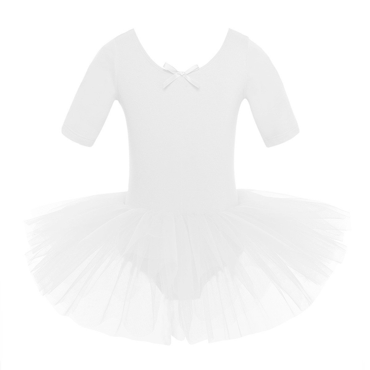 Agoky Baile de Ballet Vestido de Ni/ña Maillot Traje de Ballet Tut/ú Leotardo Princess Girls Falda de Tul Traje de Carnaval