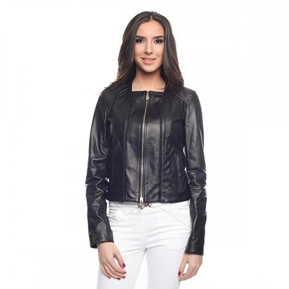 info pour f86ad e0364 Veste en cuir Versace Jeans Femmes EECHHB94PE46041, Größe:40 ...