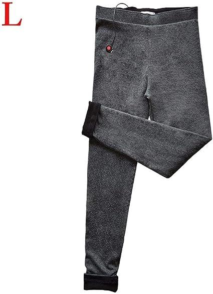 Cathy02Marshall Pantaloni Riscaldanti Elettrici USB Pantaloni Riscaldanti Termici Lavabili Pantaloni Caldi Invernali in Velluto di Cotone per Donna 3 Impostazioni di Calore