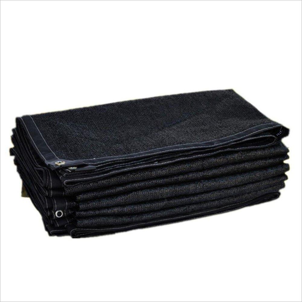 PENGFEI オーニングシェーディングネット 園芸 日焼け止め スイミングプール シェード 通気性のある 屋外 防風 防塵、 複数のサイズ (色 : Black, サイズ さいず : 6x15m) B07FTK1LKR 6x15m|Black Black 6x15m