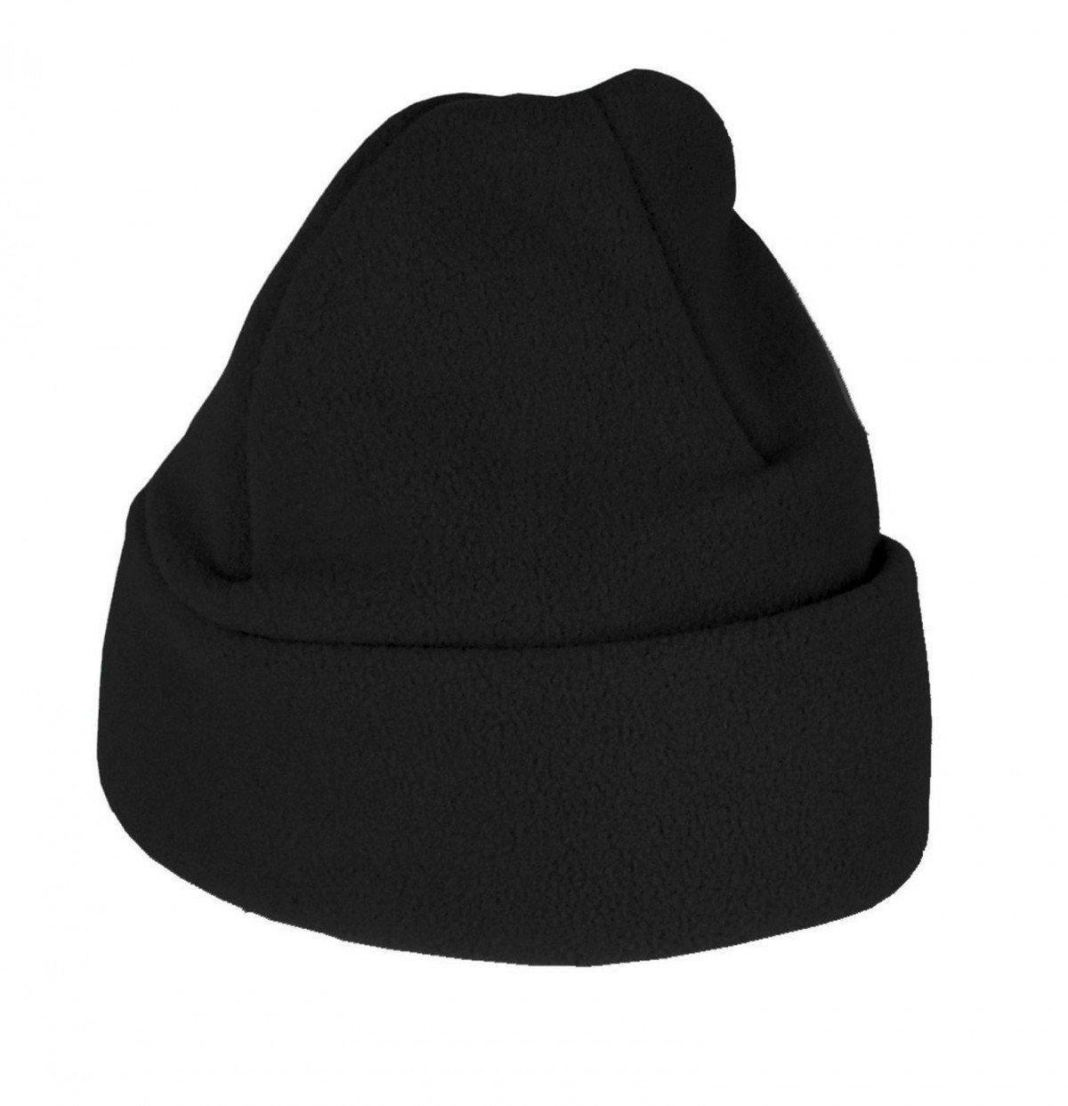 Childs Fleece Hat, Black Small