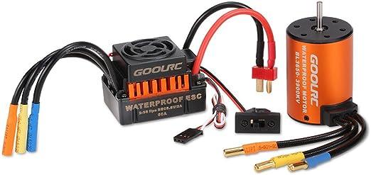 J z5 1X 3650 3900Kv Brushless Motor Für 1: 8 1:10 Rc Auto Lkw Modell Teile R7T8