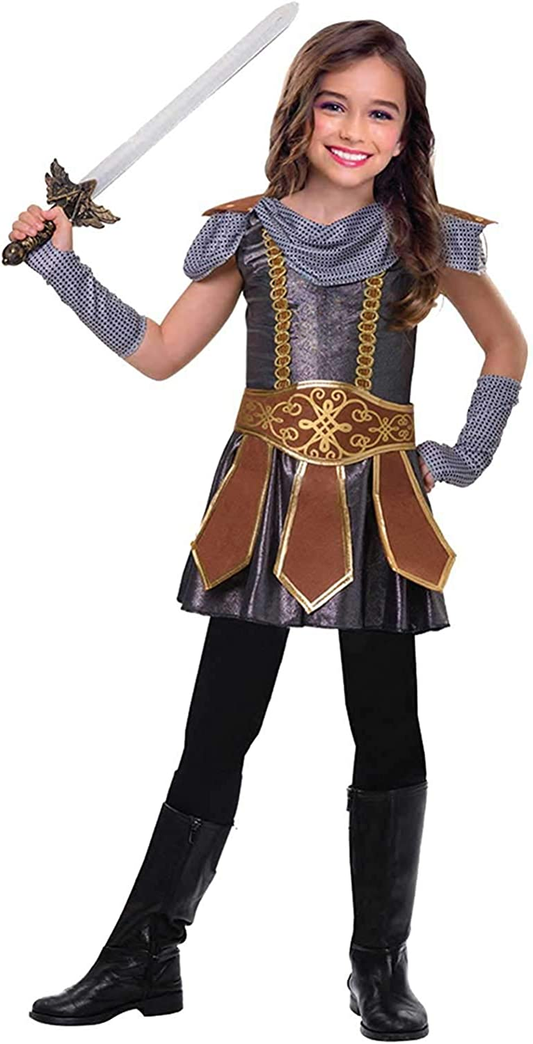 Ladies Game of Thrones Costume Fancy Dress Medieval Viking Warrior Outfit 14-16