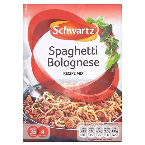 Schwartz Gli Spaghetti Alla Bolognese Ricetta Mix 40g Amazon It