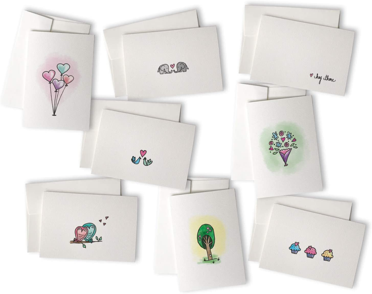 Greeting Card I Love You Card Thinking of You Card Love Card Anniversary Card Hand Stamped Note Card Love Note