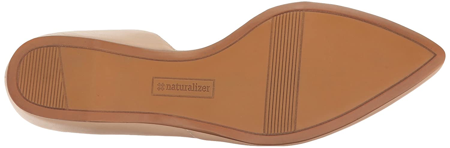 Naturalizer Women's Samantha Pointed Toe Flat B01ID8JBOG 8 B(M) US|Taupe