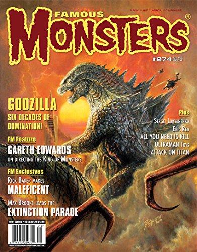 Famous Monsters #274 Godzilla 2014