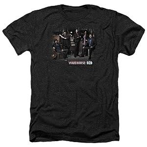 Warehouse 13 Warehouse Cast Mens Heather Shirt