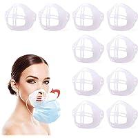 Soporte 3D para uso cómodo de máscara, marco de soporte interno de máscara de silicona, mantiene la tela fuera de la…