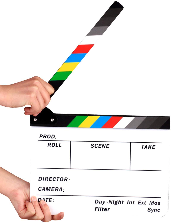 JOKHOO - Pizarra acrílica para Director de película con ...