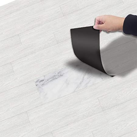 PVC Abnehmbare Holzoptik Selbstklebende Boden Aufkleber Bodenbelag