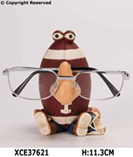 5225d42a323 READING GLASSES HOLDER STAND NOSE RACK SPECTACLE GIFT SUNGLASSES SPECS SUN  SET (American Football