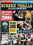Screen Thrills Illustrated #9 8/1964-Warren-Zorro-Alan Ladd-Stuntmen-VG