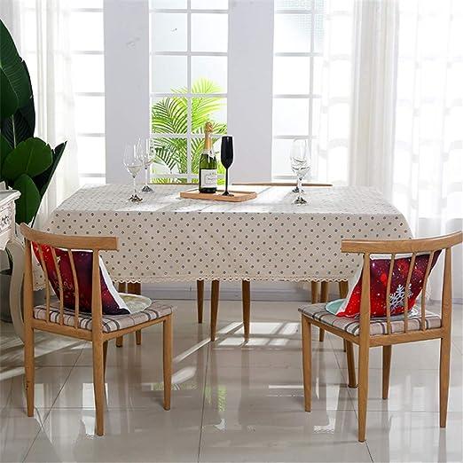 WENXIAOXU Mantel para Mesa de Cocina o salón, Lavable,Diferentes ...