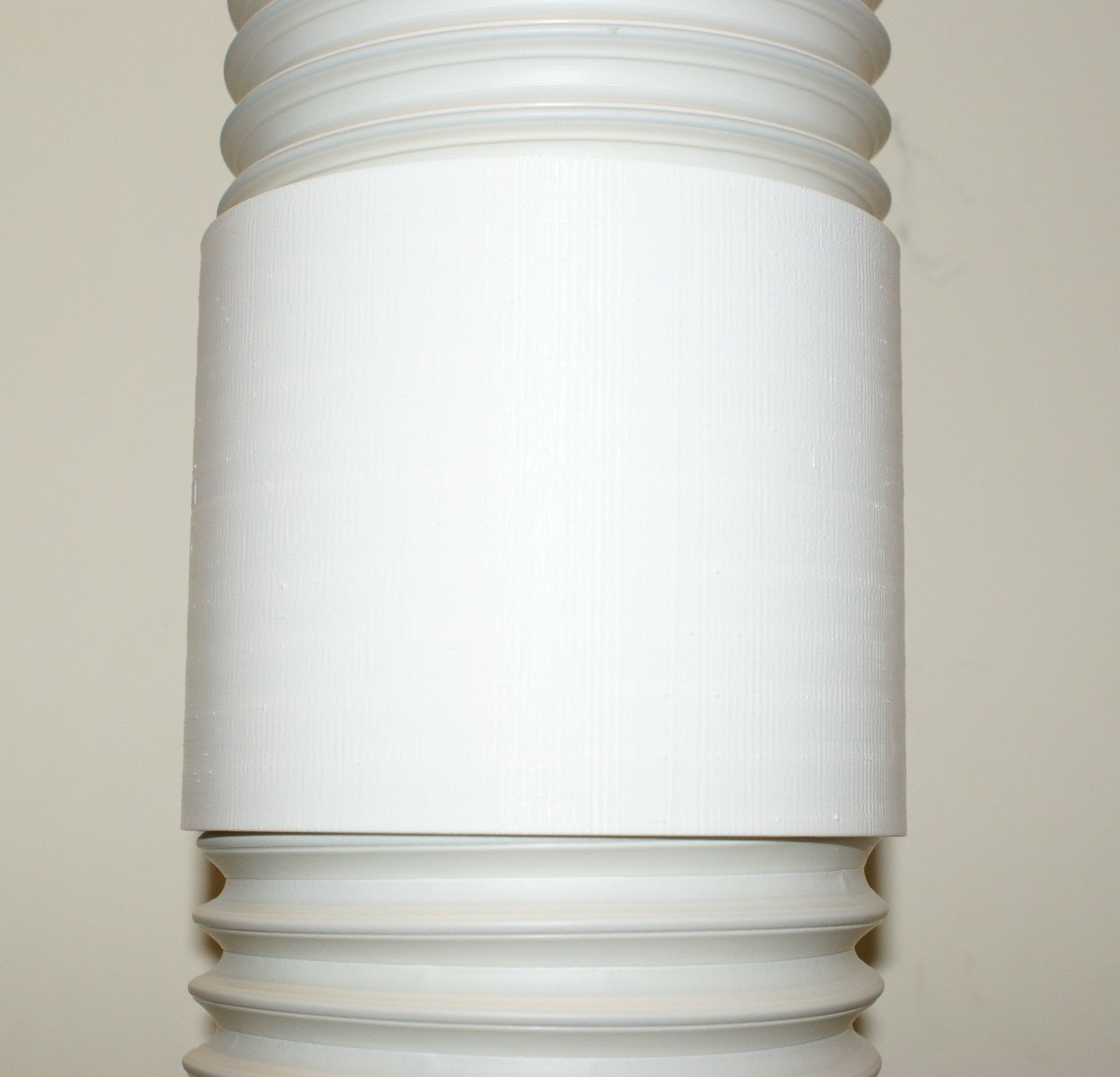 5'' Portable Air Conditioner (A/C) hose Coupling/Coupler/Connector(3D printed in USA)
