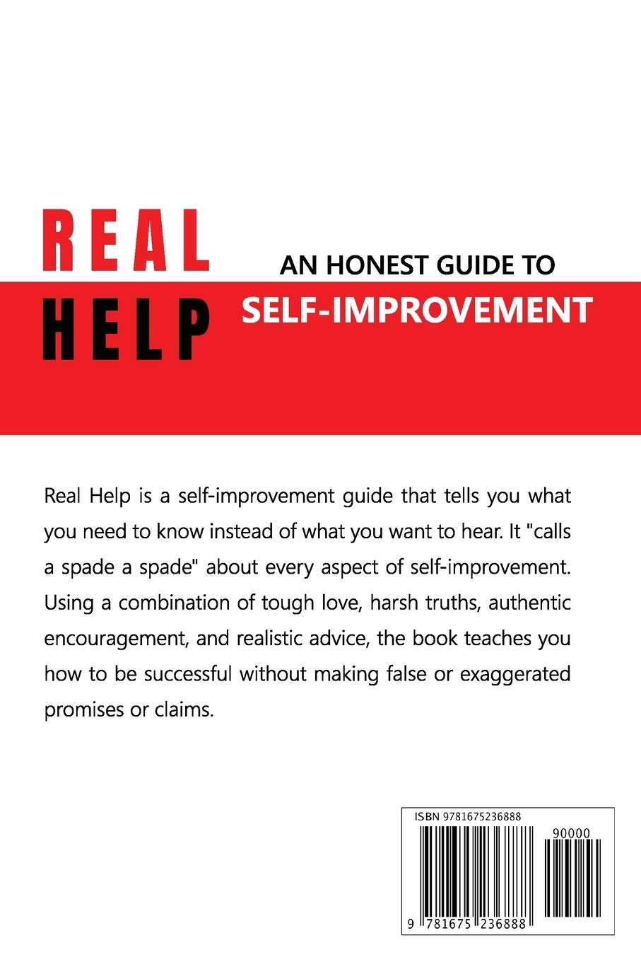 Real Help: An Honest Guide to Self-Improvement: Awosika, Ayodeji: 9781675236888: Amazon.com: Books