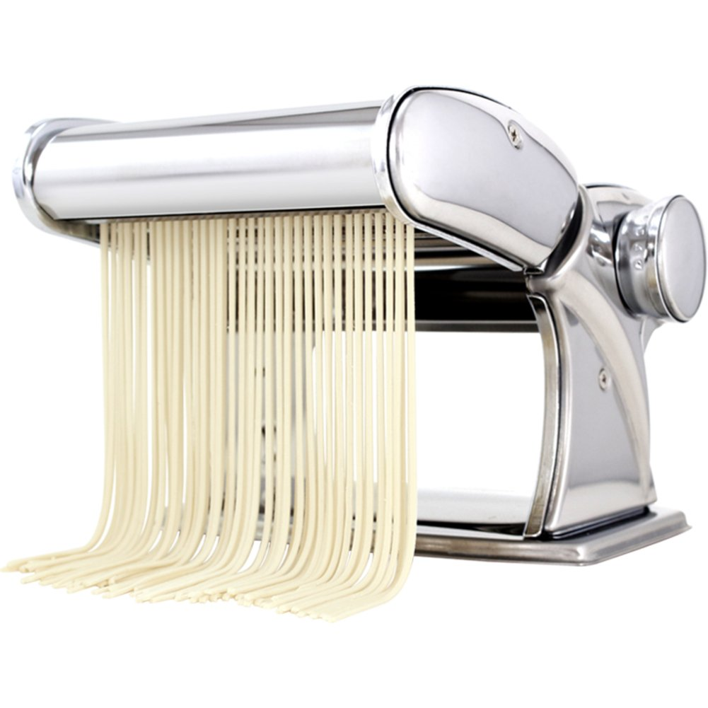 ITAPMNOD Stainless Steel Manual Noodles,Perfect for Spaghetti,Fettuccini,Lasagna or Dumpling Skins-A by ITAPMNOD