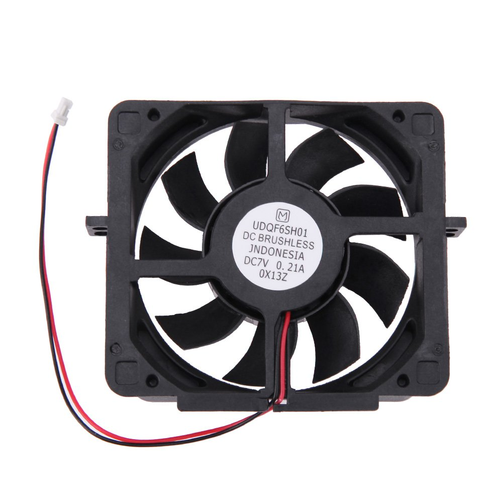 Awakingdemi PS2 Cooling Fan, Internal Cooling Fan DC7V Brushless for Sony PS2 PlayStation 2