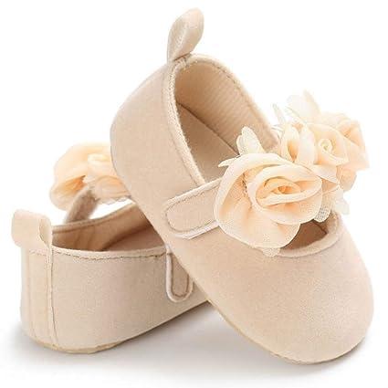 Newborn Toddler Girl Crib Shoes Baby Anti-slip Soft Sole Prewalker Pram Sneakers