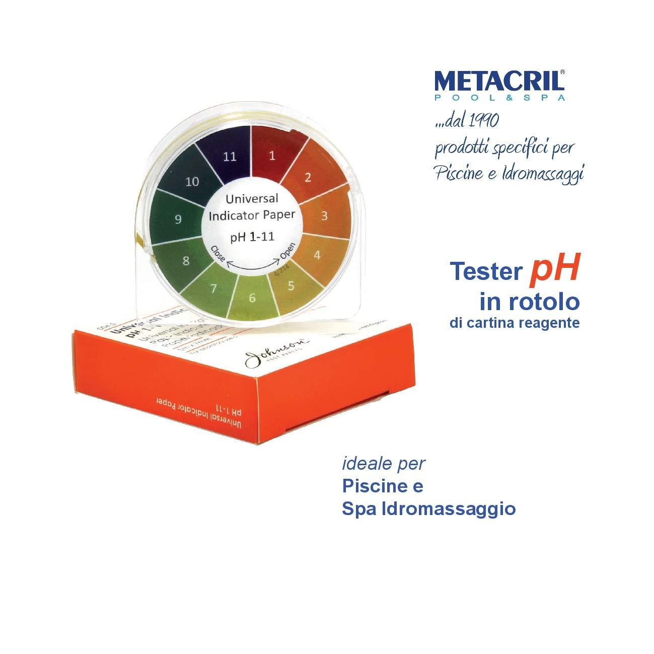 Testeur pH/ /Indicateur en rouleau
