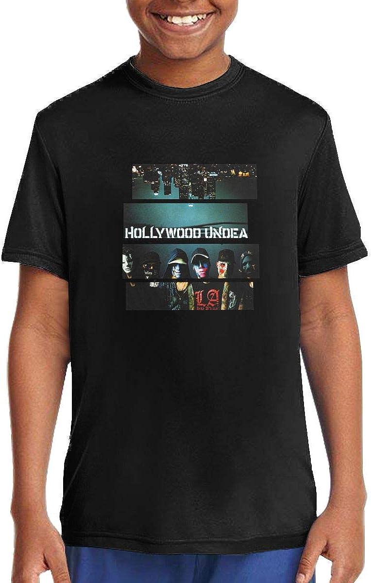 Mzjj0ZI0zz Hollywood Undead Boys Girls Short Sleeve Tee
